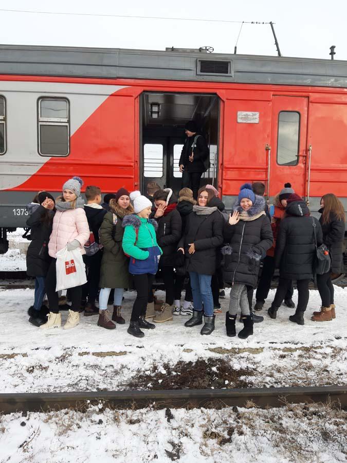 20181127 121250 - 27.11.2018 Экскурсия - вокзал и депо Анисовка