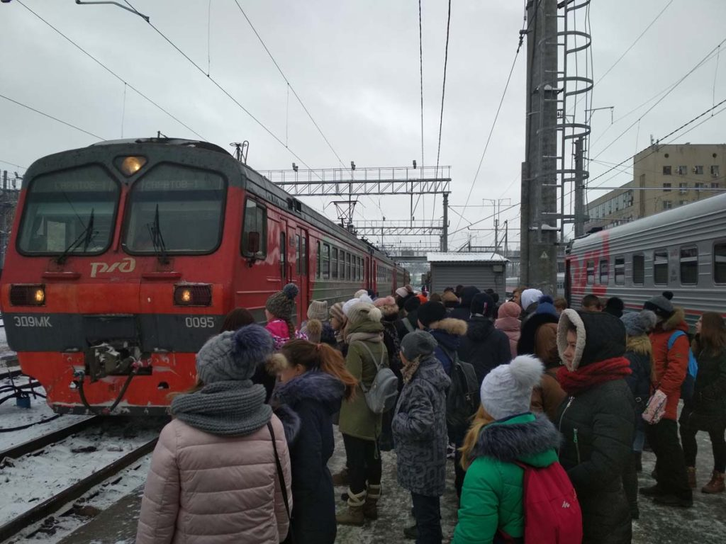 IMG 20181127 104414 1024x768 - 27.11.2018 Экскурсия - вокзал и депо Анисовка