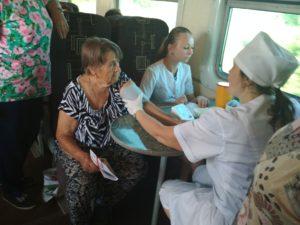 IMG 20190621 080617 300x225 - В пригородном поезде на Карамыш прошла акция «Вагон к Здоровью!»