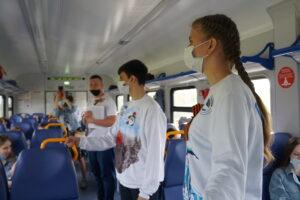 dsc04126 300x200 - Более 1100 жителей Саратовской области посетили Волгоград на электропоезде во время майских праздников.