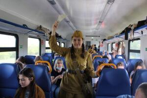 img 6930 300x200 - Более 1100 жителей Саратовской области посетили Волгоград на электропоезде во время майских праздников.