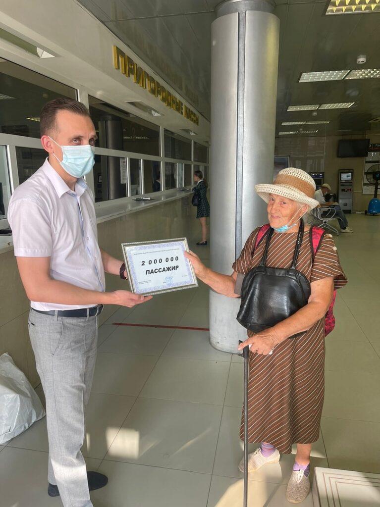 yhm61yrplrq 767x1024 - 18 августа со станции Саратов-1 в путь отправился  двухмиллионный пассажир.